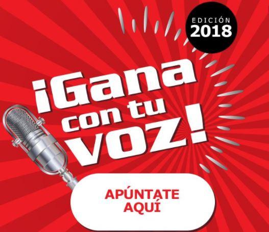 Raúl y Mikaela Toledano, directos al escenario de ¡Gana con tu Voz! en Gran Vïa de Vigo