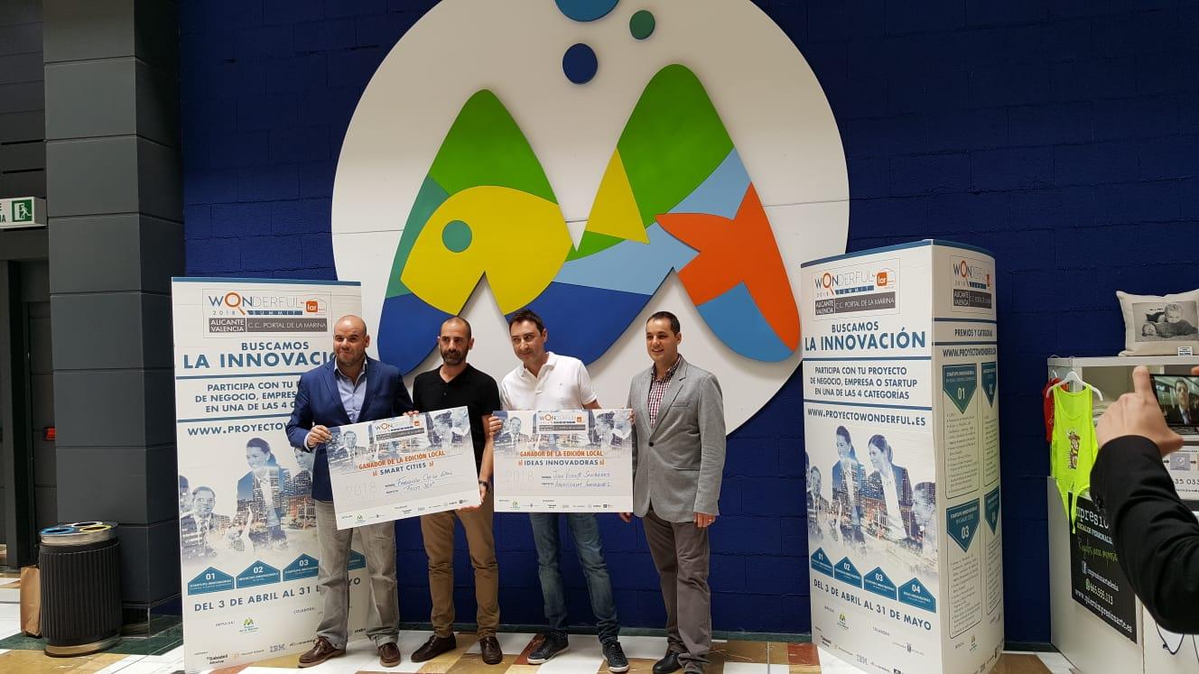 Portal de la Marina y el Ayuntamiento de Ondara premian la innovación en la segunda edición del Proyecto Wonderful de Lar España