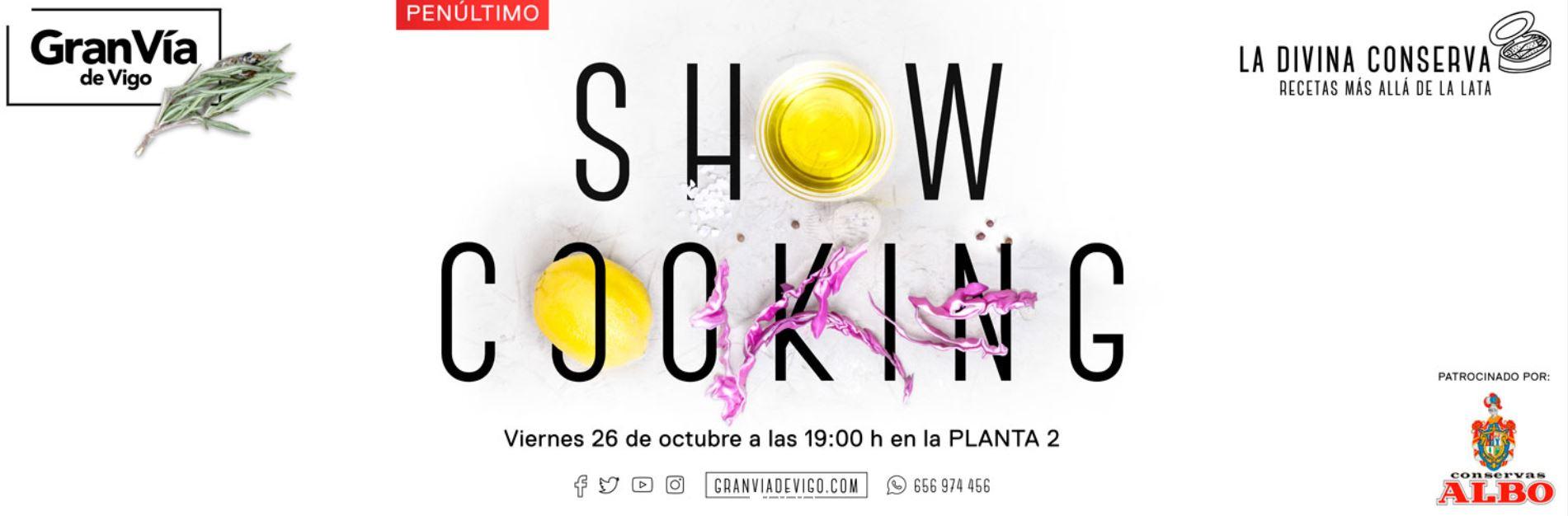 """Penúltimo """"SHOWCOOKING"""" del año en el Centro Comercial Gran Vía de Vigo"""