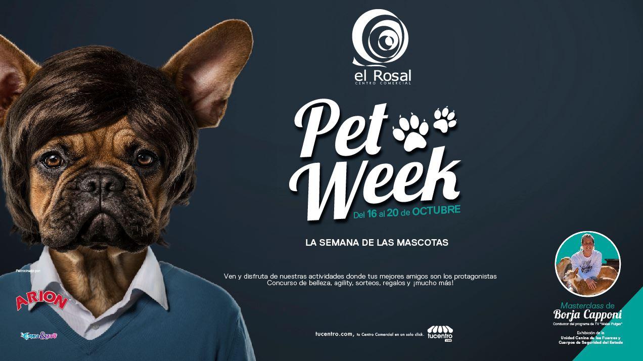 El Centro Comercial El Rosal pone en marcha la Pet Week