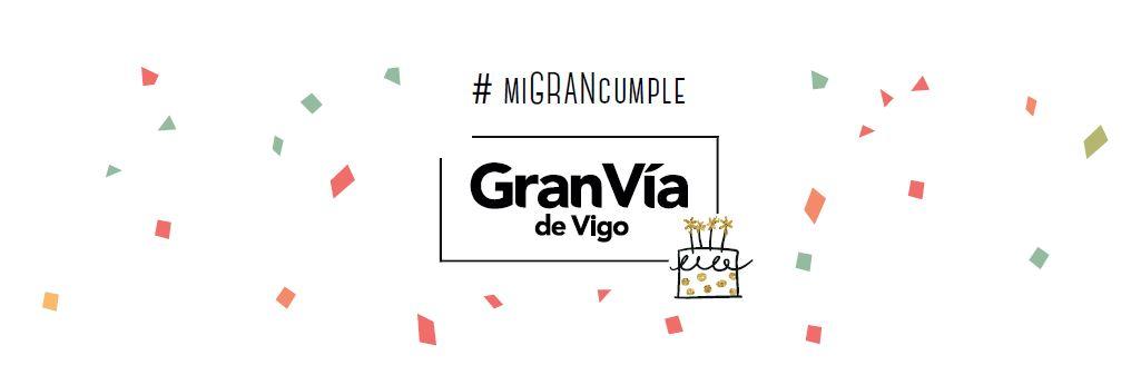Celebra tu cumpleaños en el Centro Comercial Gran Vía de Vigo