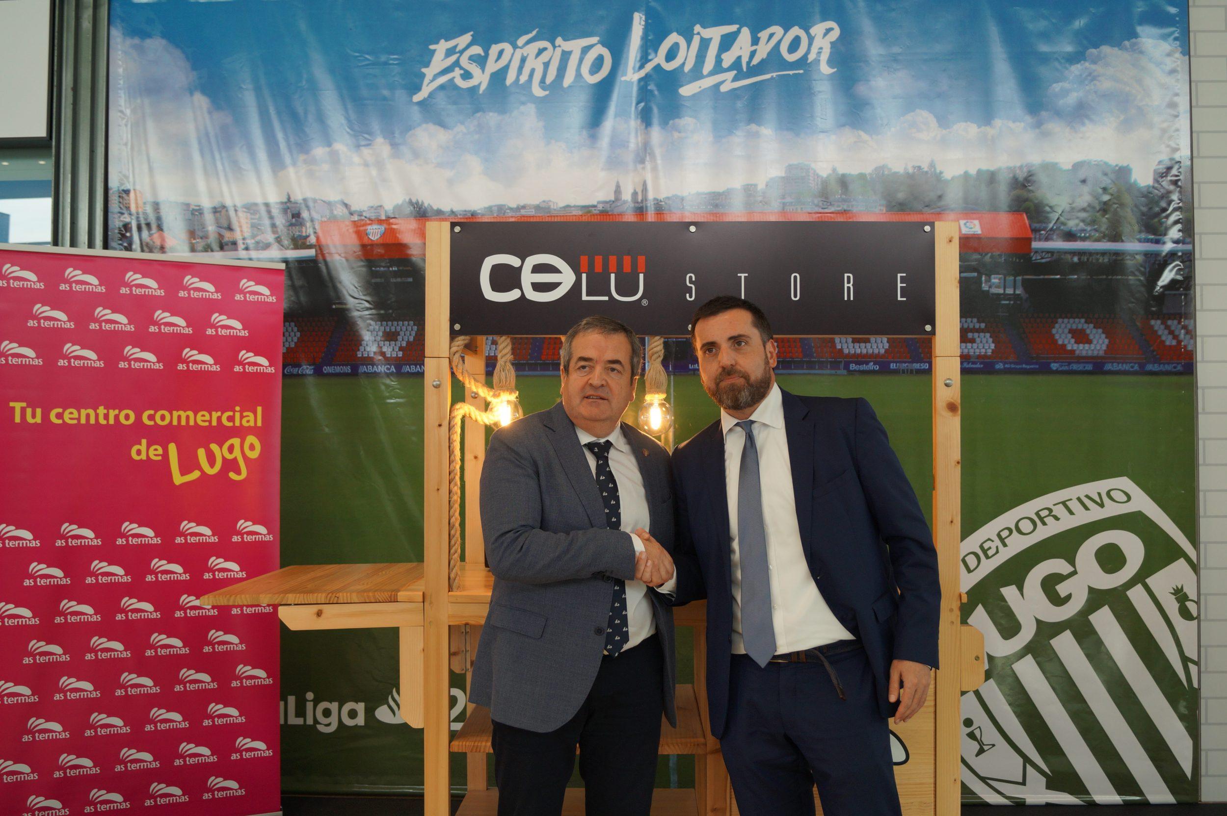 As Termas y CD Lugo firman un convenio de colaboración