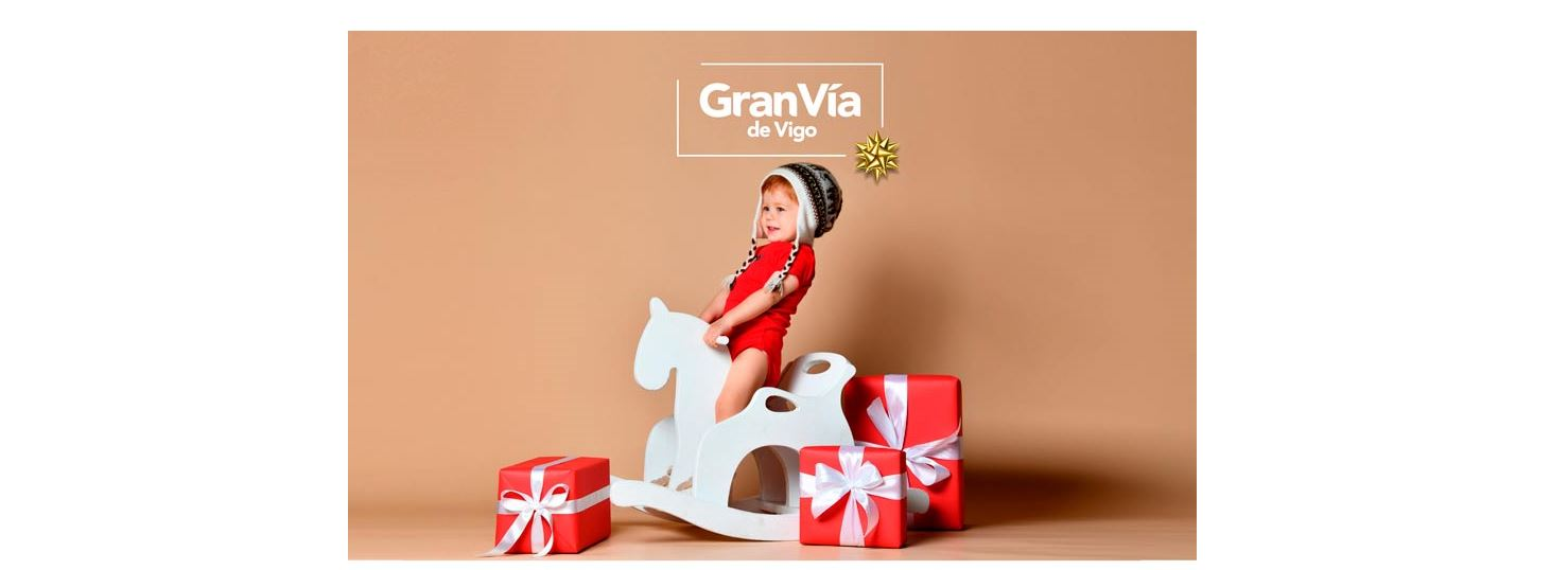 Las fotografías navideñas más entrañables se harán en el Centro Comercial Gran Vía de Vigo