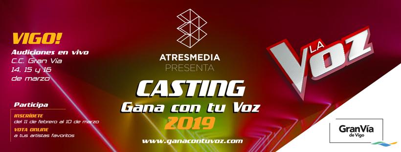 Gran Vía de Vigo concederá un pase directo para el casting final de La Voz de Antena 3