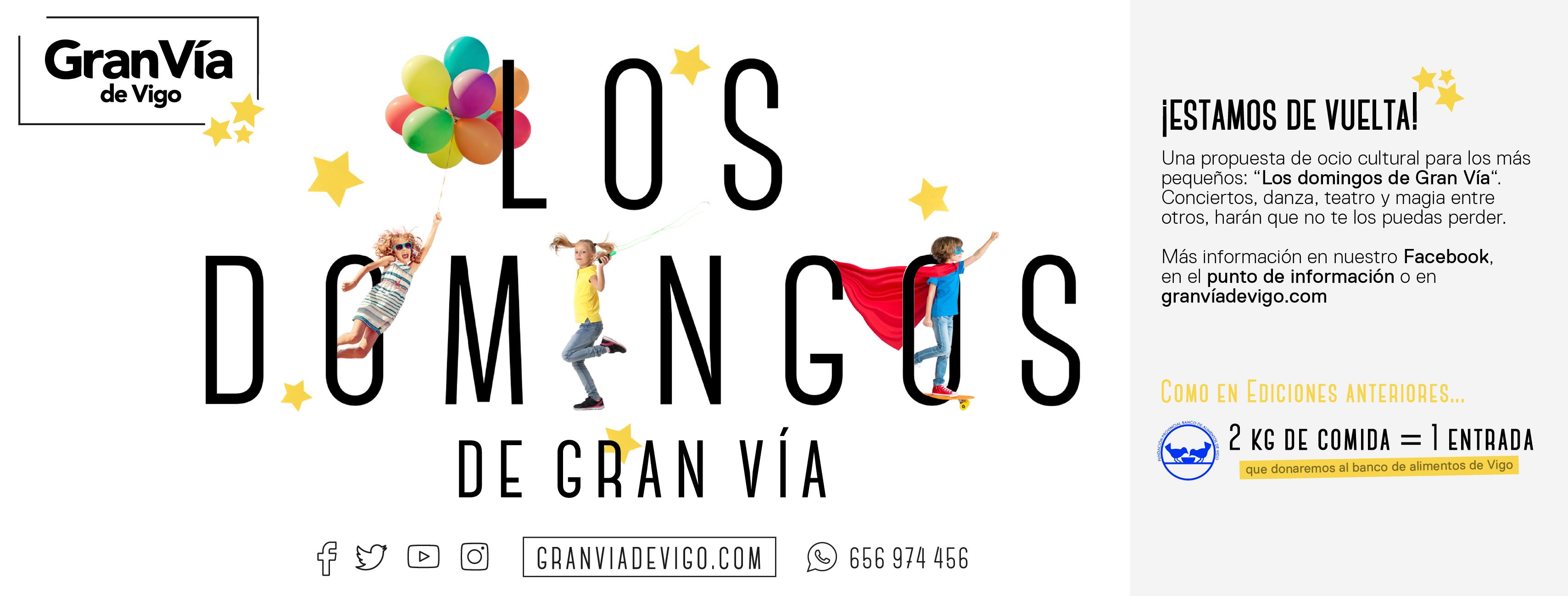 El Banco de Alimentos de Vigo y el Gran Vía de Vigo unen sus fuerzas en Los Domingos de Gran Vía y Showcooking