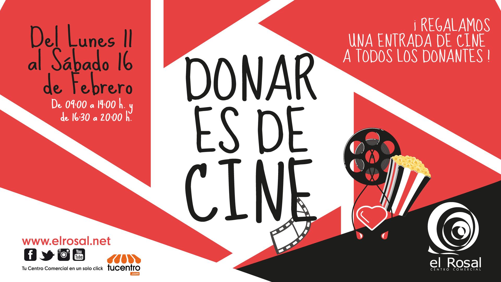 El Rosal acoge una nueva edición de Donar es de Cine