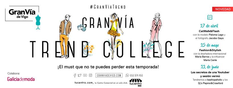 """Gran Vía de Vigo pone en marcha  el """"Gran Vía Trend College"""""""