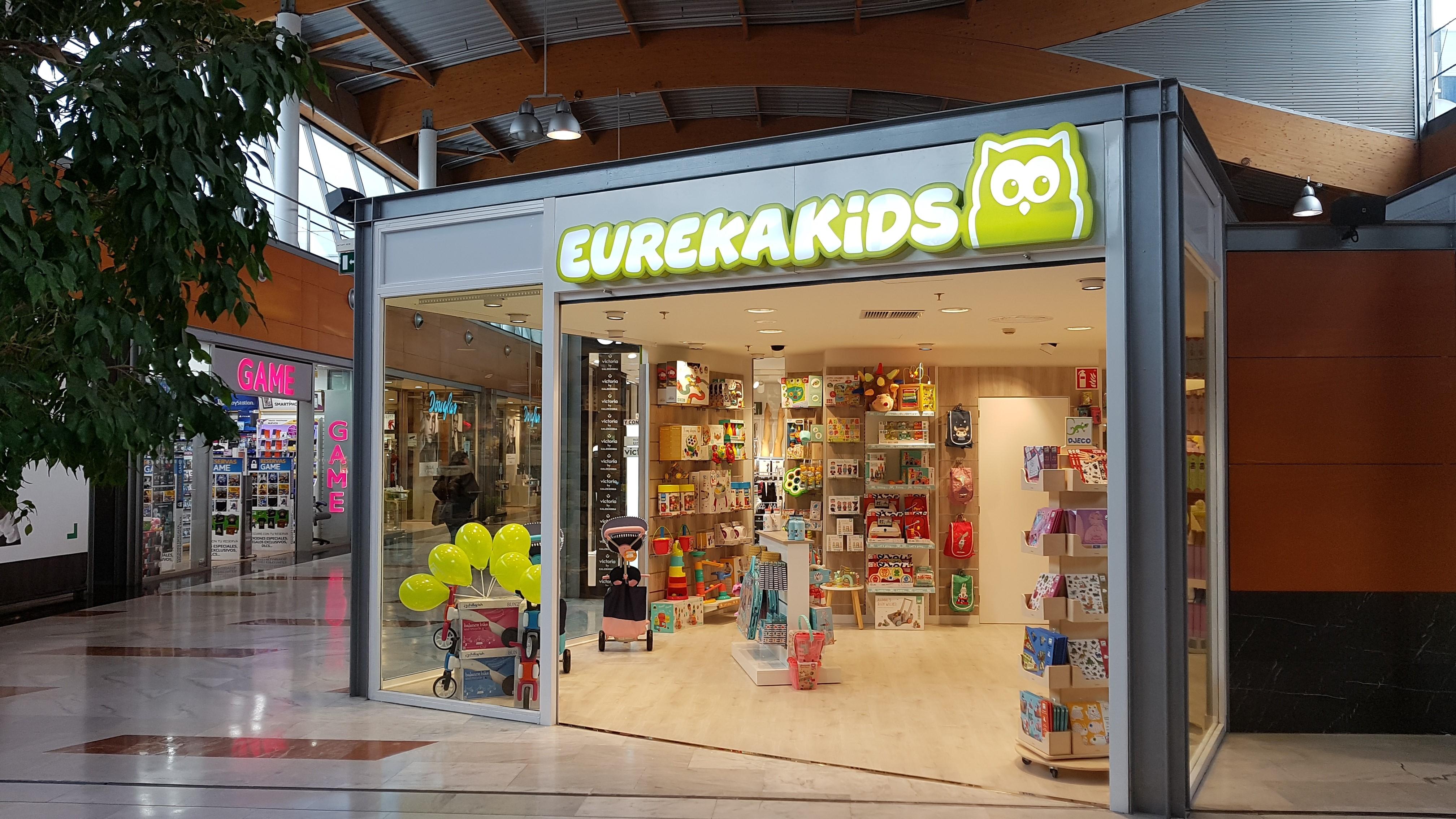 Eureka Kids abre en el Centro Comercial Urbil