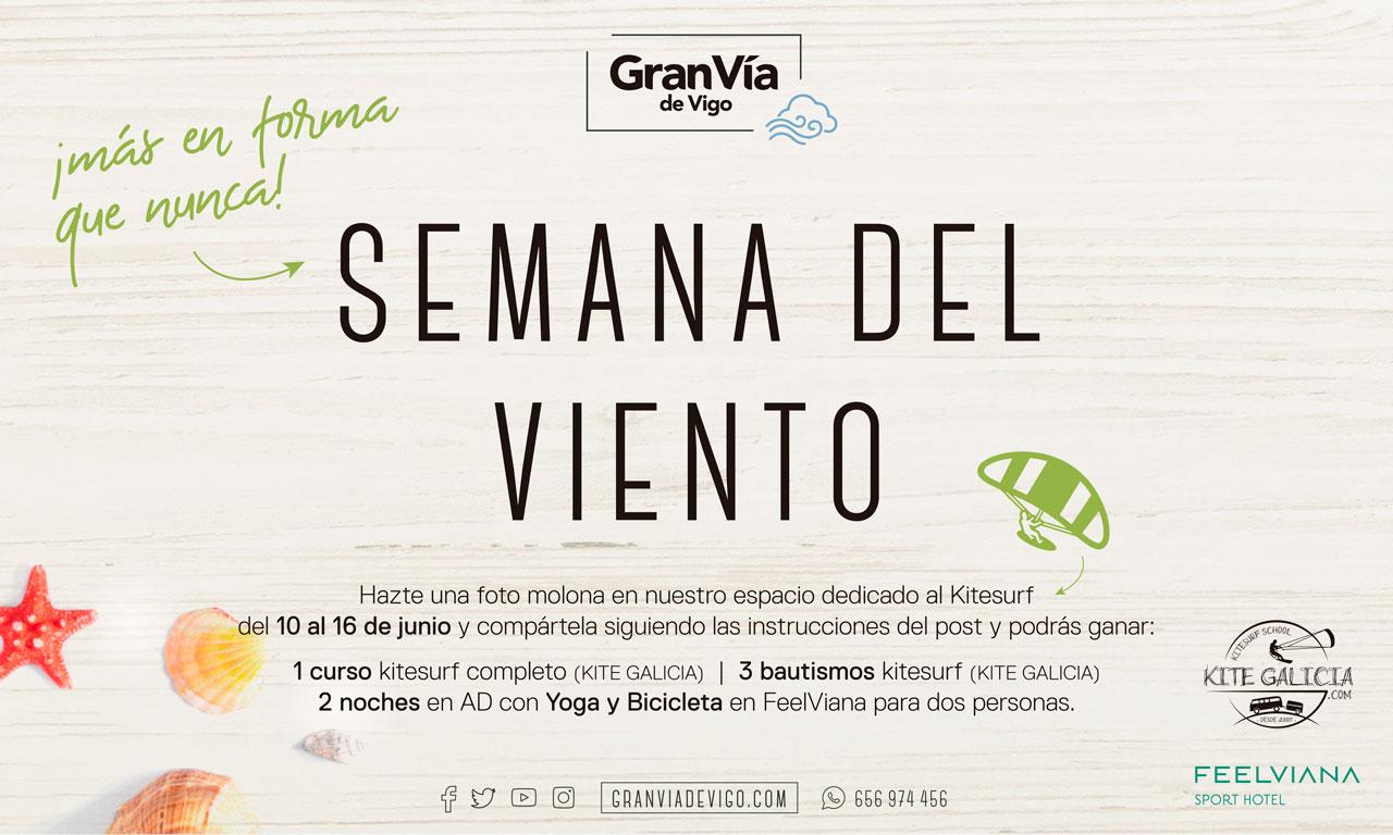 Gran Vía de Vigo celebra desde hoy la Semana del Viento