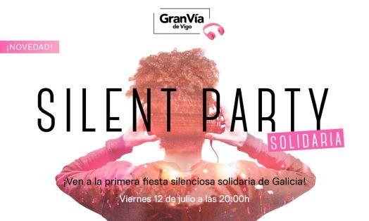 Gran Vía de Vigo pone en marcha la primera Silent Party Solidaria de Galicia