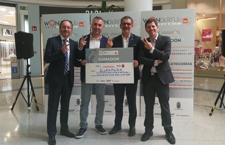 """El Centro Comercial Gran Vía de Vigo y el Ayuntamiento de Vigo premian la innovación a través del """"Proyecto Wonderful"""" de Lar España"""