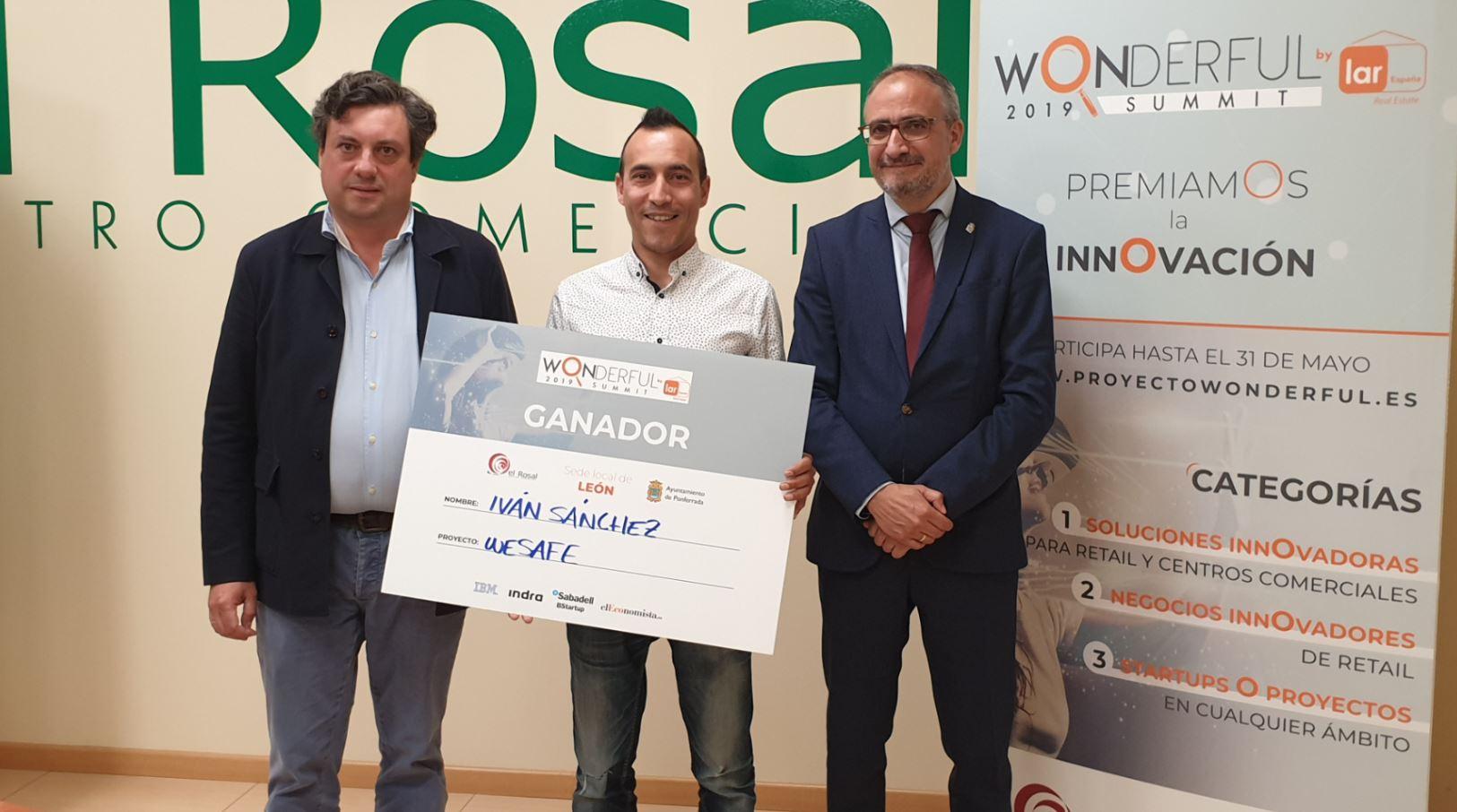 La Startup de Ponferrada We Safe, ganadora de la tercera edición del concurso de Innovación Wonderful