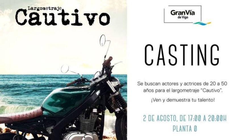 """Gran Vía de Vigo acoge un casting para la película """"Cautivo"""""""