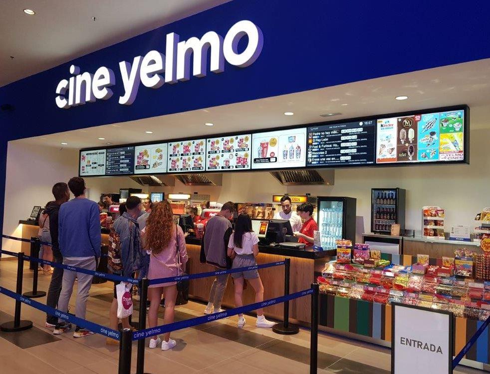 Yelmo Cines reabre el 21 de agosto las salas de cine de As Termas
