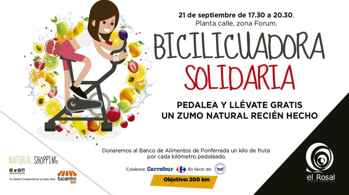 El Rosal presenta La Bicilicuadora Solidaria
