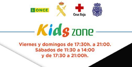 La Policía Nacional, la ONCE, la Guardia Civil y Cruz Roja impartirán charlas en la Kids Zone de El Rosal