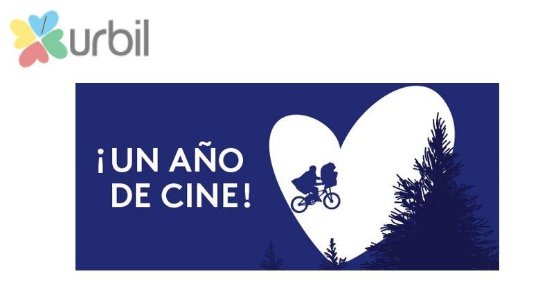 Urbil apoya la cultura cinematográfica dando la oportunidad de ganar 1 año de cine gratis