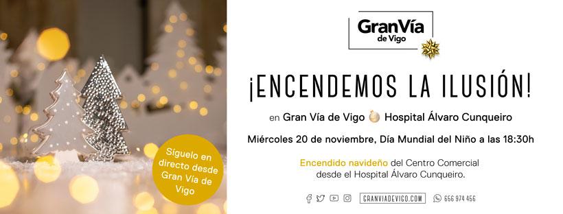 Gran Vía de Vigo volverá a encender la Navidad desde el Hospital Álvaro Cunqueiro