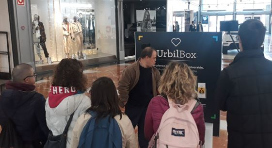 Urbil con el Programa Pauso Berriak de Inclusión sociolaboral