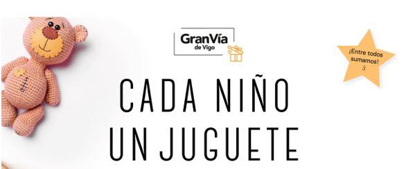 """La iniciativa local """"Cada niño un juguete"""" recoge más de 2.000 juguetes en Gran Vía de Vigo"""