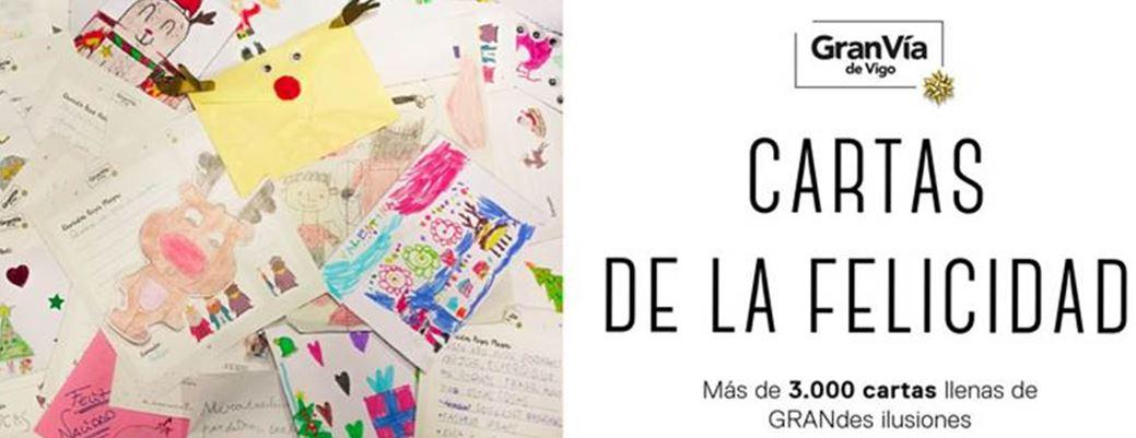 El Buzón Real de Gran Vía de Vigo recoge más de 3.000 cartas estas Navidades