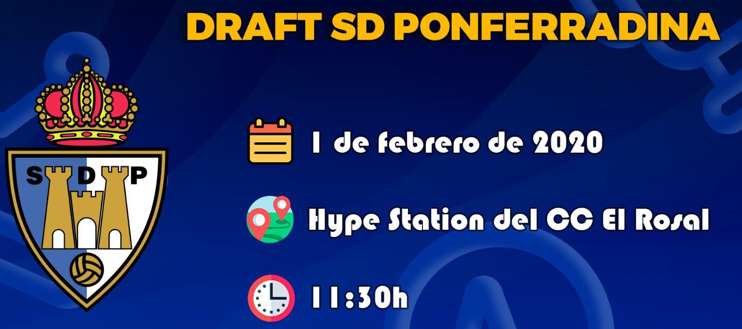 El Centro Comercial El Rosal celebró este sábado el draft de la S.D. Ponferradina